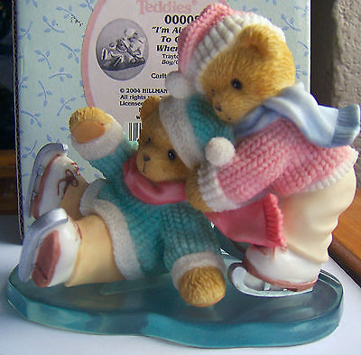 Cherished Teddies Trayton & Gabriella (Carlton Cards Exclusive) V.H.T.F.
