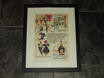 Benedictine-Rare Original advert Framed ready for your wall