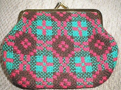 Fab Vintage Tapestry Coin Purse
