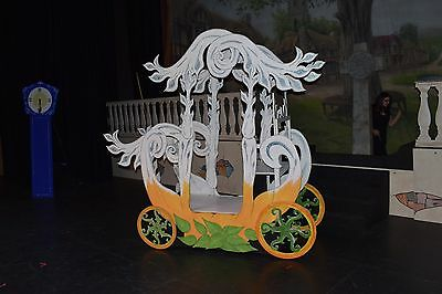 Cinderella Carriage   Pumpkin Coach  Pantomime Stage Scenery Prop  10 DAY HIRE