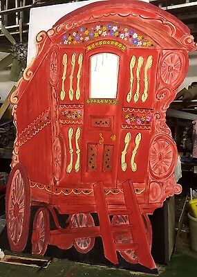Gypsy Caravan Toad of Toad Hall   Pantomime Stage Scenery Prop  10 DAY HIRE