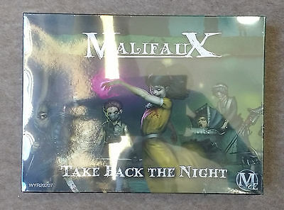 Wyrd Games MALIFAUX Resurrectionists MOLLY, TAKE BACK THE NIGHT Miniatures Set