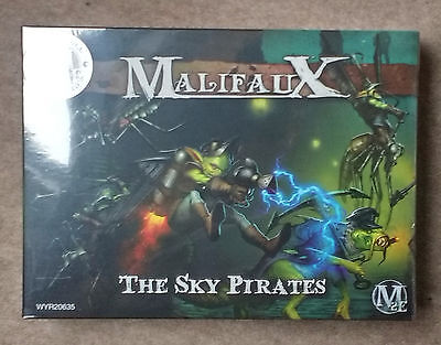 Wyrd Games MALIFAUX Gremlins THE SKY PIRATES Miniatures Set