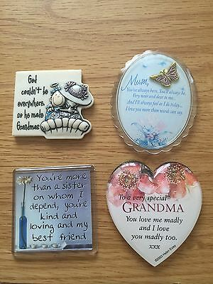 Fridge Magnets :Grandma: Mum & Sister