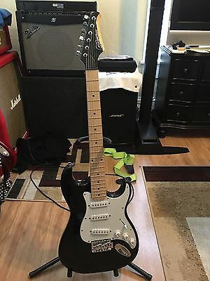 Silvertone Citation Electric Black Guitar Nice New Guitar Great Gift NEW
