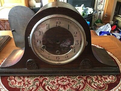 Vintage Nelson Hat Clock Spares Or Repair