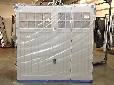 """7'0"""" x 7'0"""" Cardale BEDFORD ABS White Canopy Garage Doors"""