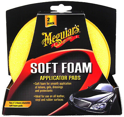MEGUIAR'S MEGUIARS High Tech Applicator Pads Polierschwamm Schwamm 2 Stk