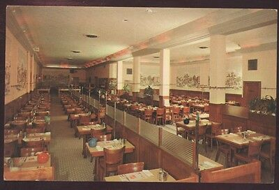 Pieronis Sea Grills Hotel Restaurant Boston Massachusetts Interior Postcard