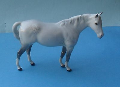 FIRST VERSION BESWICK GREY MARE FACING RIGHT, HEAD UP HORSE FIGURINE - No. 1991