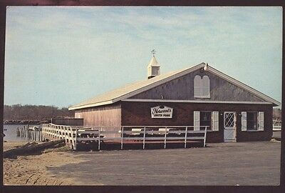 Lobster Norwood Pound Saco Restaurant Maine River Orchard Beach Postcard
