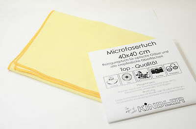 Microfiber cloth extra large 40x40cm Glasses cleaning Reading New