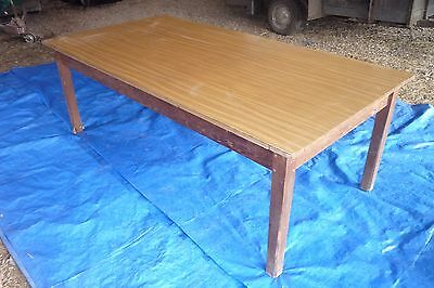 Victorian Pine Table with Formica top