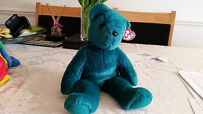 TY Beanie (large) soft collectible toy - Teddy