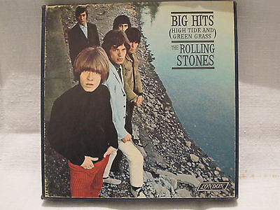 THE ROLLING STONES - BIG HITS - Nastro Bobina Reel to Reel 4track AMPEX