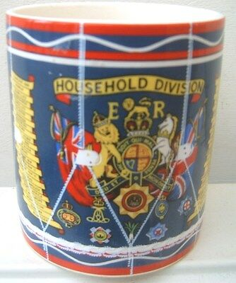 Royal Cauldon Bristol Pottery Jam Pot in Form of The Household Division Drum