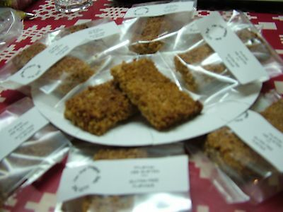 Home made Cakes,Biscuits,Jams+Pickles - Cakes - 12 GLUTEN FREE FLAPJACKS