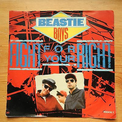 """Beastie Boys - Fight For Your Right 7"""" single (1987) VG+"""