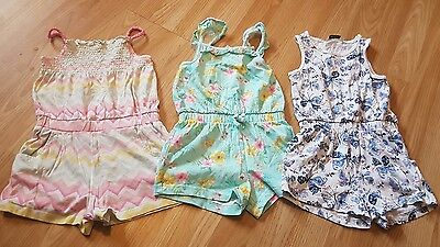 Girls 2-3 Years Summer Jumpsuit/shorts