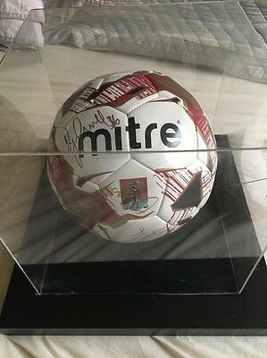 Northampton Town FC Signed Football
