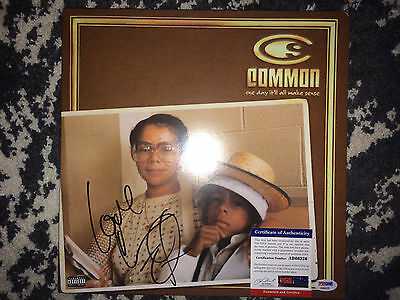"Common Signed ""One day it will all make sense"" Vinyl Album Testify PSA/DNA"