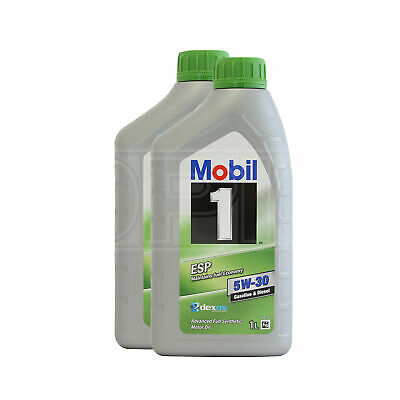 Mobil 1 ESP Formula 5W-30 Fully Synthetic Engine Oil 5W30 Mobil1 2 x 1 Litres 2L