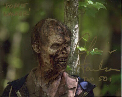 Chris Harrelson In Person Signed Photo - B746 - The Walking Dead