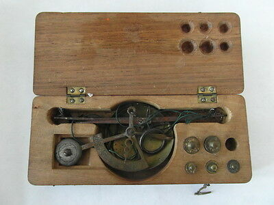 RARE Two Sets of Victorian Apothecary Antique Scales - Chemist