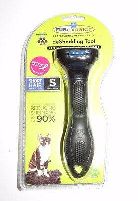 Authentic Small Short Hair Black Cat FURminator New Limited Edition Color BCRF