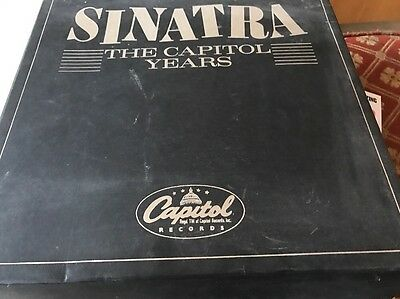 Frank Sinatra Capitol Years 18 Unplayed Vinyl In Box