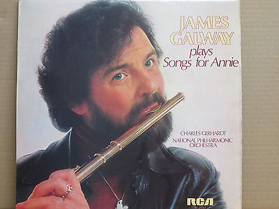 James Galway plays songs for Annie James Galway
