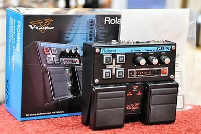 Roland Gr-S V-Guitar Space Spatial Revolution Guitar Effects Pedal Boss Grs