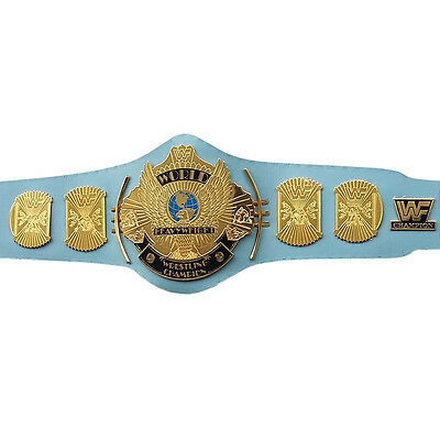 WWE Classic Gold Winged Eagle Championship Replica Belt 4mm Thickness Adult