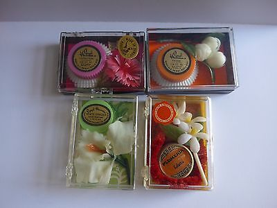 Solid Perfume Compacts Pill Trinket Box Lot #1
