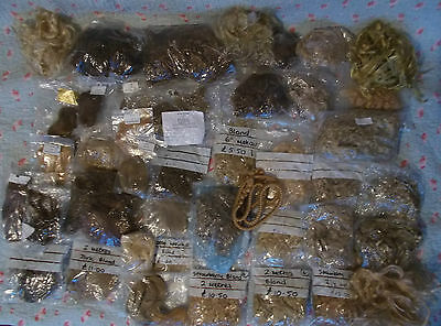 Huge Job Lot Of Over 40 Pieces Of Mohair,dozens Of Metres,all Colours/styles