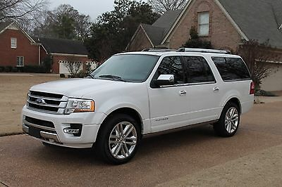 2016 Ford Expedition EL Platinum 4WD One Owner Perfect Carfax EL Platinum 4WD 22's MSRP New $71220