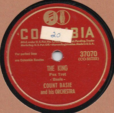 """78er Jazz Swing Count Basie Orchestra """"The King"""""""