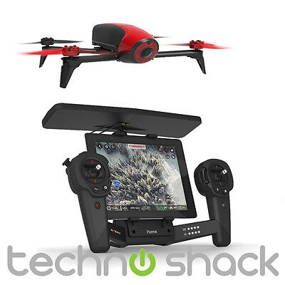 Parrot Bebop 2 and Skycontroller (Red/Black)