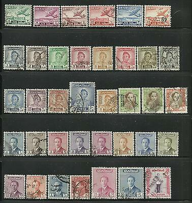 Iraq. Selection of 37 used stamps.