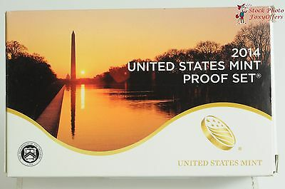 2014 US Mint 14 Piece Proof Set in Original Mint Box with COA