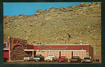 Sundowner Restaurant Rock Springs Wyoming Coffee Shop Dining Postcard