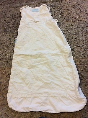 Grobag White Sleeping Bag Age 6-18 Months Approx 1 Tog