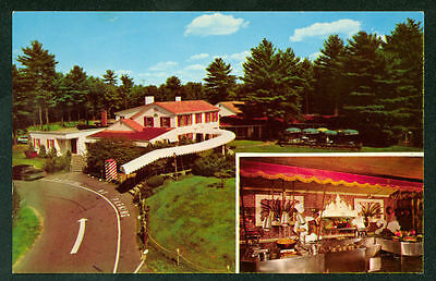 Lord Fox Foxboro Massachusetts Famous Buffet Restaurant Postcard