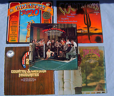 Vinyl LP *Rarität Tom T.Hall we all got together and *Country&Western Favourites