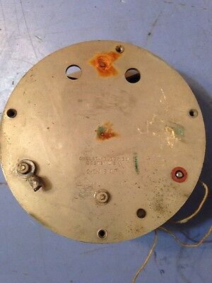 Scarce Unusual Chelsea Battery Or Electric Power Clock Movement