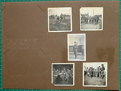 Ww1 Wwi Photo West Yorkshire Regiment Ship Hotel Cycles Other Ranks Group