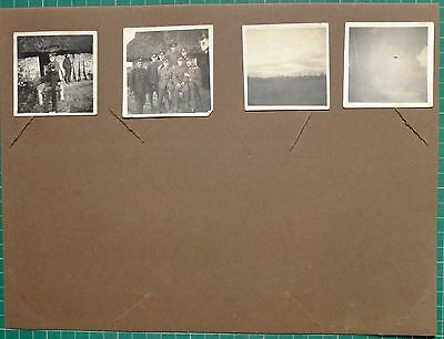 Ww1 Wwi Photo West Yorkshire Regiment Soldiers Group Rifles Planes Small In Pic