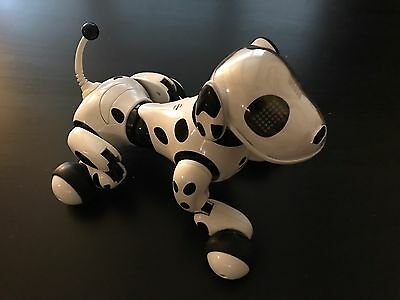 Zoomer Robot Dalmation Dog 2012 Spin Master Working Great