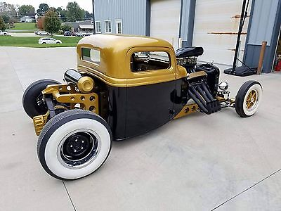"1935 Ford Other Pickups  1935 FORD "" GOLD RUSH"" HOTROD"