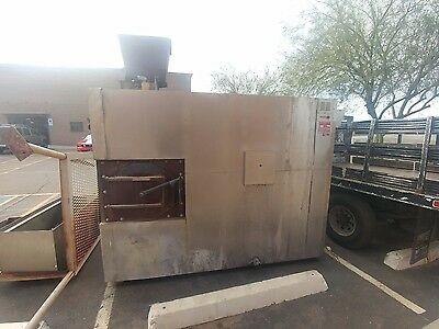 Southern Pride XLR 1400  natural gas and wood Smoker